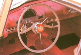 The 1954-1955 Hudson Italia featured the first flow-through ventilation system in auto history.