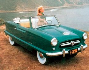 The Metropolitan went into production in October 1953 and made it to the U.S. as a 1954 model.