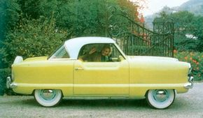 This early 1954 is badged NKI Custom, in reference to one of the car's prototypes.