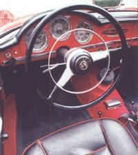 The ignition key slot was at the far left of the dash in this 1962 Veloce.