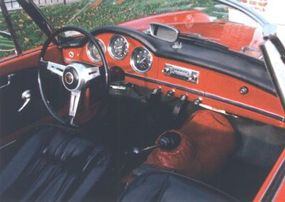 The Giulia's five-cog gearbox allowed the engine to run quieter, which made the little-changed cockpit a bit more hospitable.