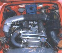 In the Veloce, the dohc four developed 112 horsepower, 10 more than the basic engine.