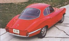 The Sprint coupe was the first Giulietta to be produced, making its debut in 1954.