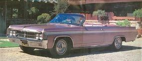 Oldsmobile billed the 1963 Starfire as its full-size sports car.