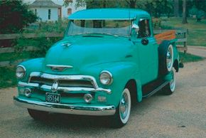 The design cycle of the 1954 Chevrolet Series 3100 half-ton pickups spanned less than two years, making the trucks relatively rare today. See more classic truck pictures.