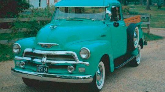 1954 Chevrolet Series 3100 Half-Ton Pickups