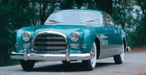 It's believed that only a dozen Thomas Specials and nine GS-1s were made, including this 1954 Chrysler GS-1 Special Coupe. See more pictures of Chrysler cars.