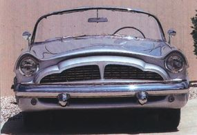 Packard enthusiasts were not particularly impressed with the Panther's front end design.
