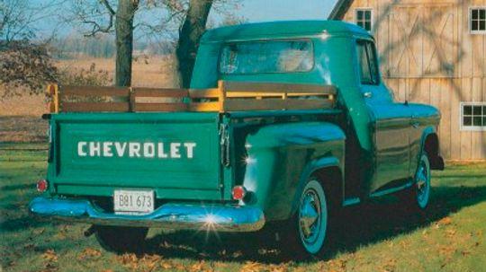 1955-1956 Chevrolet Series 3100 Pickup
