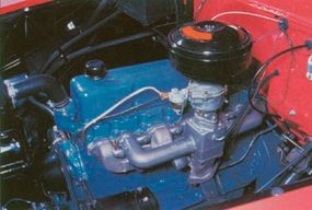 The 235.5-cubic-inch Thriftmaster six engine produced 140 horsepower.