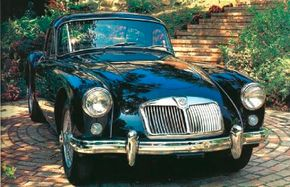 Styling of the MGA was smooth and aerodynamic.