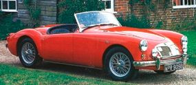 The MGA 1600 (Mark I) was in production from May 1959 to April 1961; this is a 1959 model.