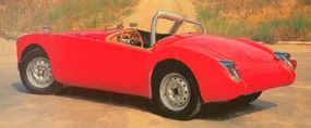For racing events, the bumpers of the MGA were often shed to take off extra pounds.
