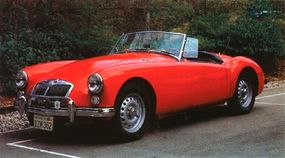 The MGA 1600 Mark II DeLuxe remained in production until MGA output ceased in June 1962.
