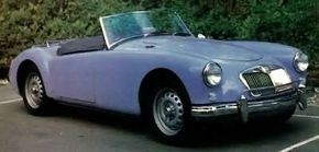 The fastest MGA, the Twin Cam, was built from September 1958 to April 1960. See more classic car pictures.