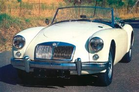 The MGA Twin Cam was intended strictly for the serious connoisseur. It sported Dunlop disc brakes and center-locking vented disc wheels.
