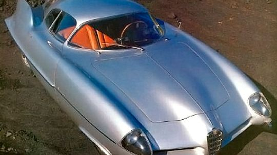 1955 Alfa Romeo Bertone BAT 9