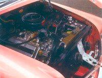 Under the hood, Dodge's hemi V-8 put out 183 horsepower.