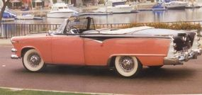 The Custom Royal convertible was available in flashy colors to suit its styling.