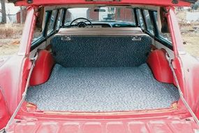 Great cargo space made the 1955 Dodge Royal Sierra Custom station wagon an excellent choice for families.