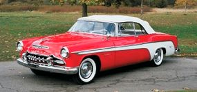 The 1955 DeSoto Firedome is a prime example of the Virgil Exner-designed 'Forward Look.'