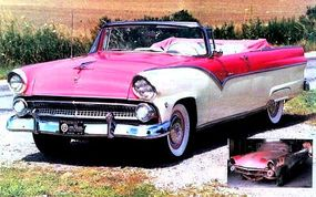 This two-toned ragtop joined the list of award-winning restorations in 2000.