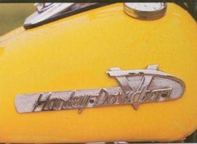 The Hydra-Glide introduced a new Harley logo.