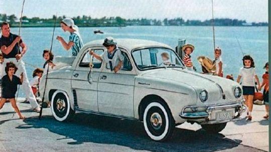 1956-1968 Renault Dauphine
