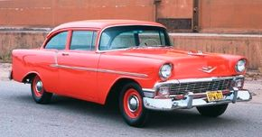 The 1956 Chevrolet One-Fifty was a no-frills speed and performance. See more pictures of classic cars.