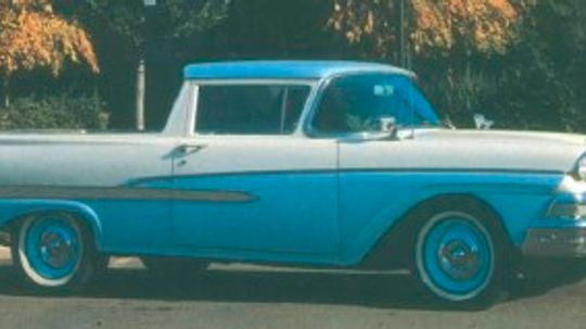 1957-1958 Ford Ranchero and Courier