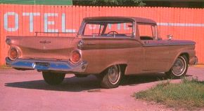 The Ford Ranchero boasted 32.4 square feet of cargo space.