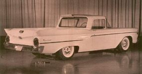 The design of the Ford Ranchero was a departure from anything Ford had designed before.