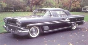 Styling of the 1958 Bonneville was more like that of lesser Pontiacs and not bad for the day, but not up to its 'New Direction' label.