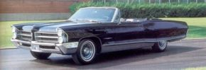 This 1964 Bonneville-based show convertible was dubbed Club de Mer, recalling the 1956 Pontiac two-seat experimental.