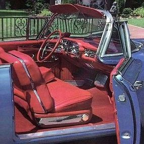 The 1957 Biarritz housed the most potent V-8 engine offered by Cadillac.