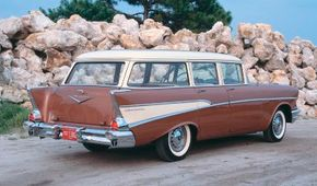 The 1957 Chevrolet Two-Ten Townsman was a best seller for the year.