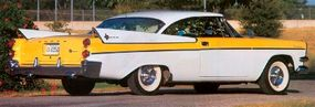 The 1957 Dodge Coronet Texan's bold styling was unlike that of earlier Dodge models.