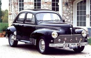 The Peugeot 203 was the automaker's first new design after World War II. See more classic car pictures.