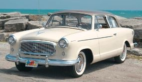 At $2,010 to start, the two-door sedan was the cheapest 1960 Rambler American Custom.