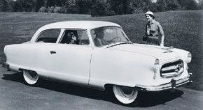 Car buyers likely thought they had seen the last of the 100-inch-wheelbase Nash Rambler in the mid-1950s -- until AMC used it to create the Rambler American.