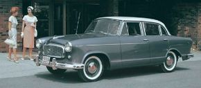 The 1960 American Rambler saw the addition of a four-door sedan, which instantly became the most popular body style.