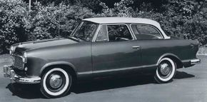 Thanks in part to its low $1,795 starting price, the basic Deluxe two-door sedan was the single most-popular model in the 1960 Rambler American family with 23,960 built. See more classic car pictures.