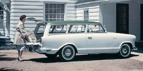 This $2,145 1959 Rambler American Super wagon was the priciest American model for the year.