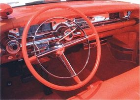 The dashboard of the Limited was covered in chrome.