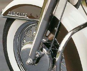 """""""Duo-Glide"""" referenced the FL's coli-over-shocks rear suspension design."""