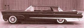 This Mark III clay model makes clear the 1958-1960 Lincoln was nowhere near as elegant as the Mark II.