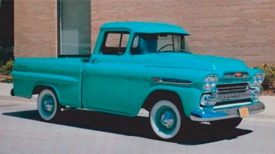 1959 Chevrolet Fleetside Pickup