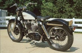 The 1959 Harley-Davidson XLCH Sportster was aimed at Sportster fans who wanted more performance. See more motorcycle pictures.
