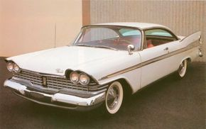 Sport Fury was the name given to the limited edition at the top of the Plymouth line in 1959. See more classic car pictures.