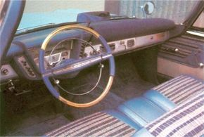 The driver controlled up to 305 horsepower in the 1959 Plymouth Sport Fury.